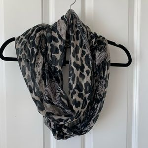 H&M animal print scarf